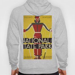 Vintage poster - National and State Parks Hoody