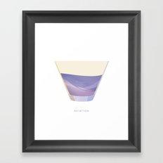 Cocktail Hour: Aviation Framed Art Print