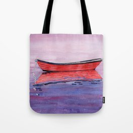 Red Dory Reflections Tote Bag