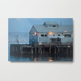Monterey Fish Co. Metal Print