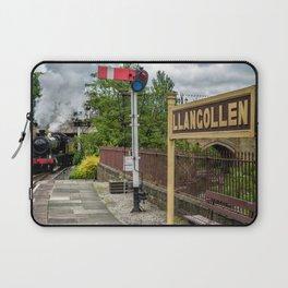 Llangollen Railway Station Laptop Sleeve