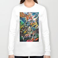 phoenix Long Sleeve T-shirts featuring Phoenix by Dawn Patel Art