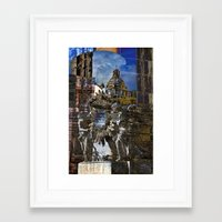 roman Framed Art Prints featuring Roman Impression  by CAPTAINSILVA