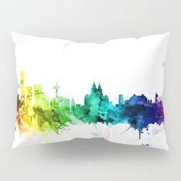 Liverpool England Skyline Pillow Sham