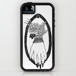 Blossom Macabre iPhone Case