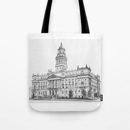 Wayne County Court House | Detroit Michigan Tote Bag
