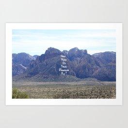 How High Do your Dreams Fly?  Art Print