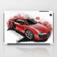 audi iPad Cases featuring R8 V10 by an.artwrok