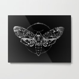 Death's-head Hawkmoth Metal Print