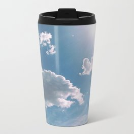 clouds Metal Travel Mug