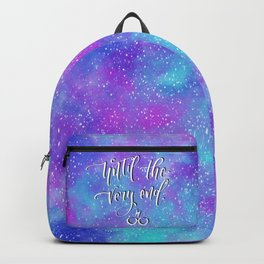 Until the very end Backpack
