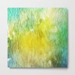 Crumpled Paper Textures Colorful P 256 Metal Print