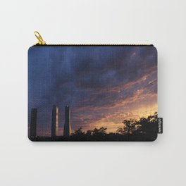 Sunset over Cuatro Torres, Madrid Carry-All Pouch