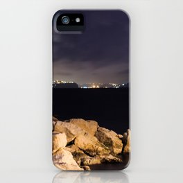 The Green LIGHTHOUSE- Island of Ischia - Landscape iPhone Case