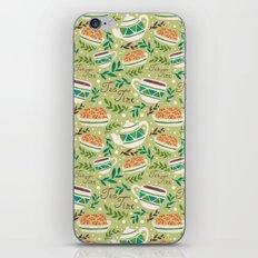 Tea Time Pattern iPhone & iPod Skin