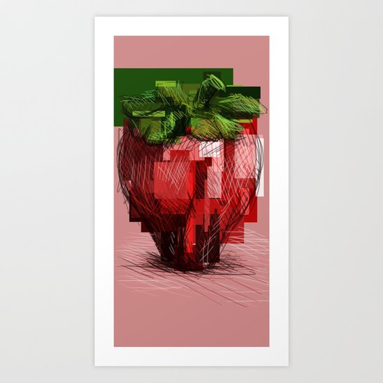 Rawberry Art Print