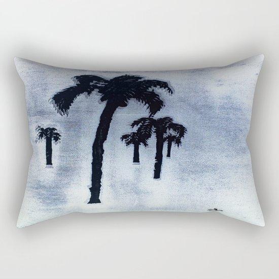 Shaking Those Trees, Caribbean Rectangular Pillow