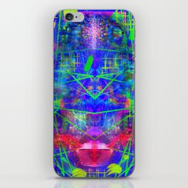 Abstract Energy 6 iPhone Skin