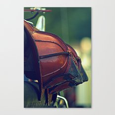 Vintage Fire Helmets Canvas Print
