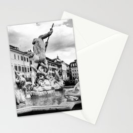 Piazza Navona, Rome Stationery Cards