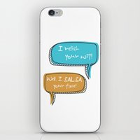 parks and recreation iPhone & iPod Skins featuring Parks and Recreation by Elanor Jarque