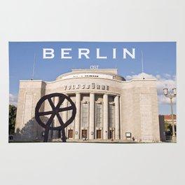 EAST BERLIN THEATRE - VOLKSBÜHNE Rug