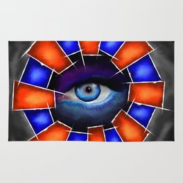 Salvenitus - watching eye Rug