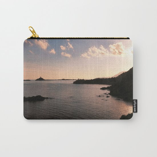 sunset in Sardinia Carry-All Pouch