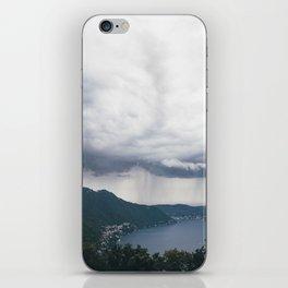 lake como, i iPhone Skin