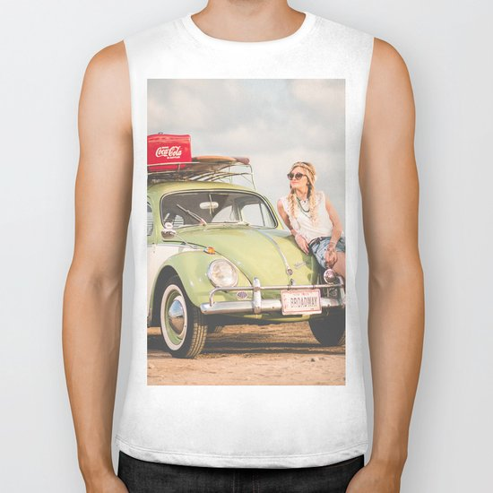 Broadway Car Biker Tank