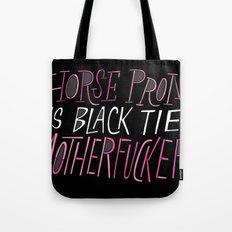 Horse Prom Tote Bag