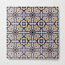 Portuguese tile Metal Print