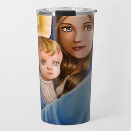 Madonna and Child Travel Mug