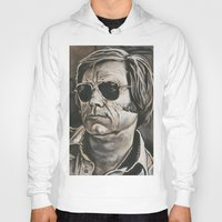 phil jones Hoodies featuring Jones by Buddy Owens Paintings