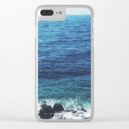 Fading summer Clear iPhone Case