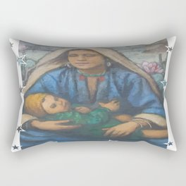 Mother and Child 2 Rectangular Pillow