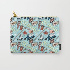 Canada Pattern Carry-All Pouch