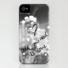 All You Need Is... iPhone (4, 4s) Slim Case