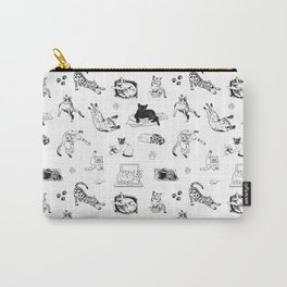 Cat Things Carry-All Pouch