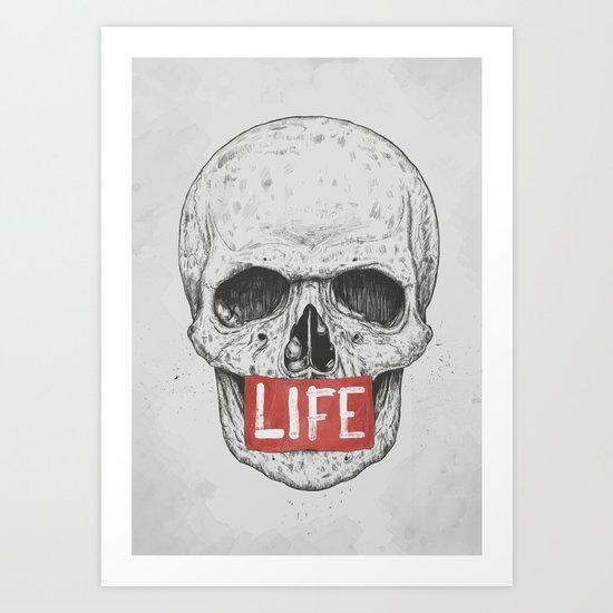 Life Art Print