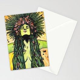 Green Goddess Stationery Cards