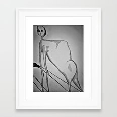 Evolution Creates Problems Framed Art Print