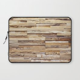Background of old wooden pieces Laptop Sleeve