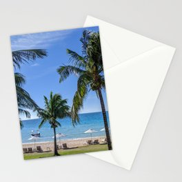 Tropical Beach in North Eleuthera, Bahamas #1 Stationery Cards
