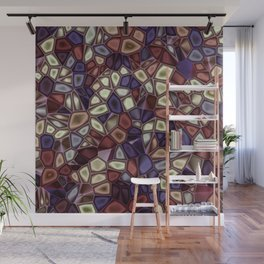 Fractal Gems 01 - Fall Vibrant Wall Mural