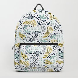 Bohemian Rhapsody White Backpack