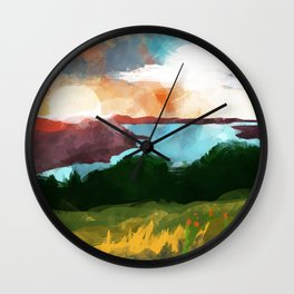 Skaneateles Lake :: Landscape Wall Clock