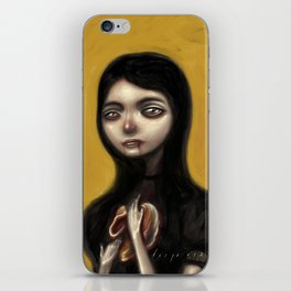 A Hunger That Will Not Go Away iPhone Skin