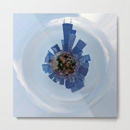 Chicago Planet Metal Print