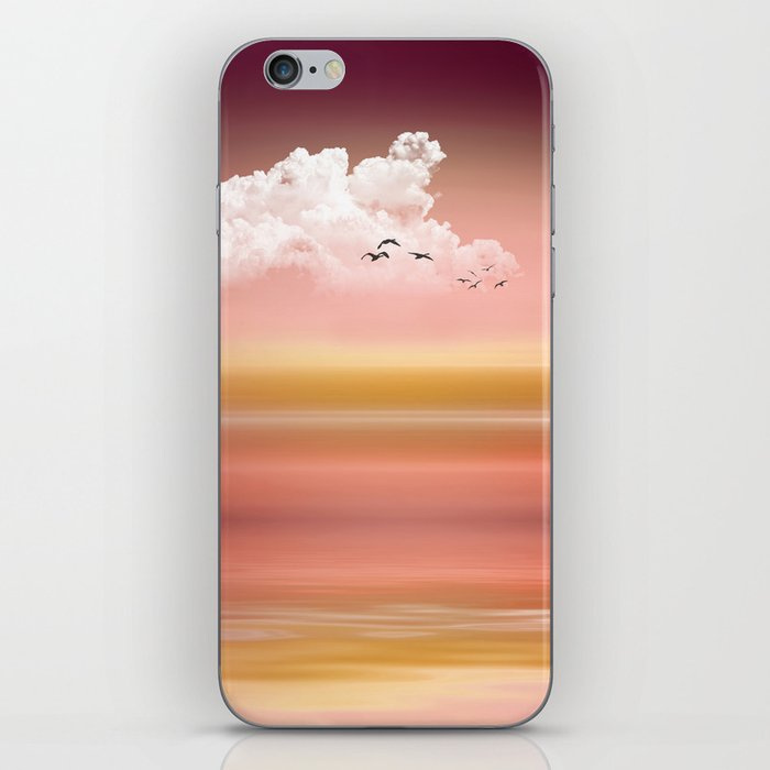 FROM DUSK TO DAWN - a golden sunset iPhone Skin